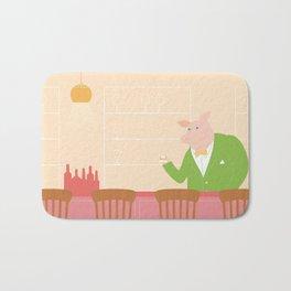 Pig's Bar Bath Mat