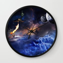 Extraterrestrial Wall Clock