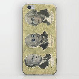CAW (Coolidge, Adams, Washington) iPhone Skin