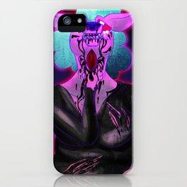 Open My Throat iPhone Case