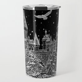 Holiday at Hogwart Travel Mug
