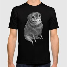Sweet Black Pug T-shirt