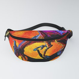 DRAGON FIRE HARVEST MOON DREAM Fanny Pack