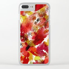 Summer Wine Clear iPhone Case