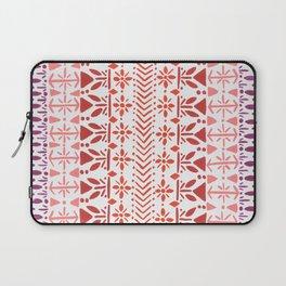 Norwegian Pattern – Reds & Corals Laptop Sleeve