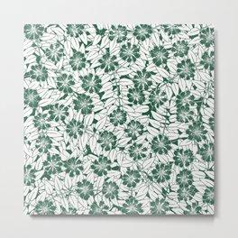 Foliage green Metal Print