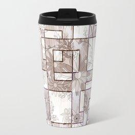 Floral, geometric pattern. Travel Mug