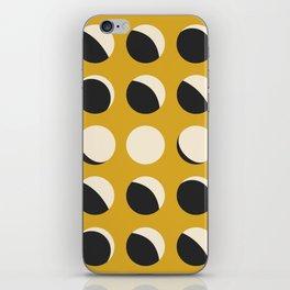 Moon Phased in Honey iPhone Skin
