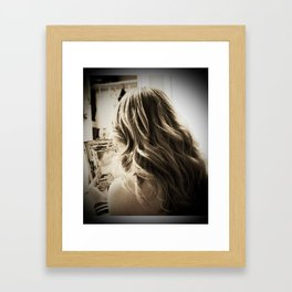 Exquisite Pain Framed Art Print