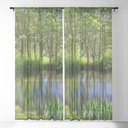 Spring views Sheer Curtain