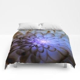 Unique Duvet Cover - Floral Design in Blue # 24 Comforters