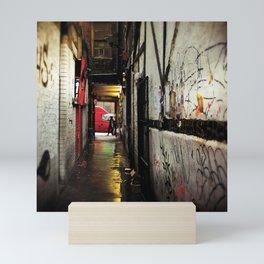 Under cover Mini Art Print
