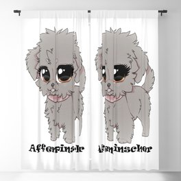 Affenpinscher Cuteness Blackout Curtain