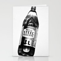oz Stationery Cards featuring 40 OZ by Brandon Green