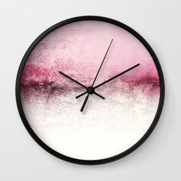 SNOWDREAMER PINK  Wall Clock