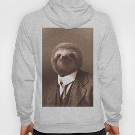 Gentleman Sloth in Sepia Tone Hoody