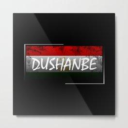 Dushanbe Metal Print