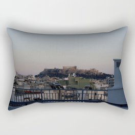 Views from a Hotel Roof Rectangular Pillow