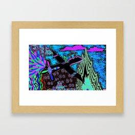 AF-22 Framed Art Print