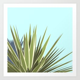 Plant portrait Art Print