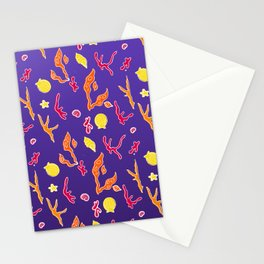 Seaweed and Shells Stationery Cards