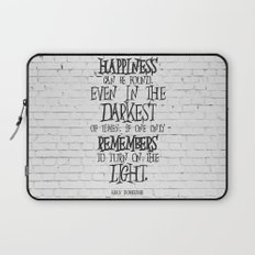 Albus Dumbledore Quote Inspirational Laptop Sleeve