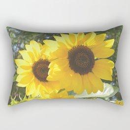 Paint Me A Thousand Sunflowers Rectangular Pillow