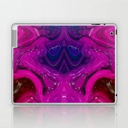 Abstract Digital Design - Purple Wave Laptop & iPad Skin