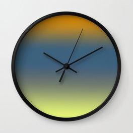 Color Fade 1 Wall Clock