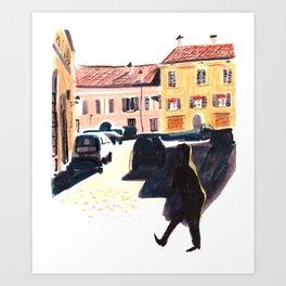 Morning in Italy Art Print