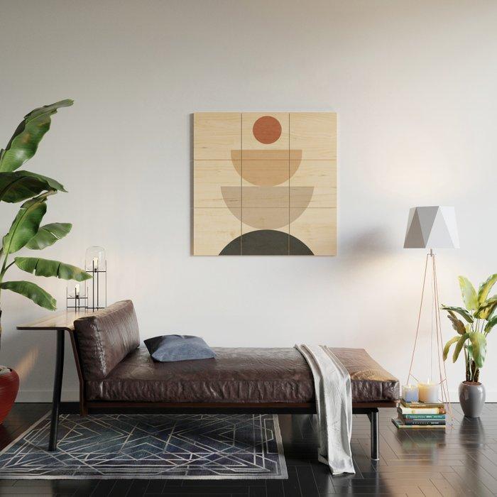Geometric Modern Art 31 Wood Wall Art
