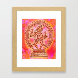 Kali, The Hindu Goddess of Power Framed Art Print