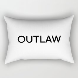 OUTLAW Rectangular Pillow