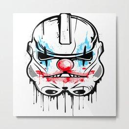 clown tropper Metal Print