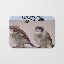 Two Birds on a Branch Bath Mat