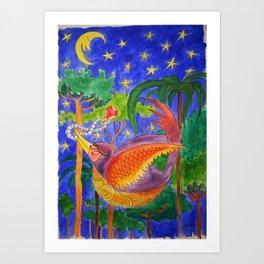 Rich Bird Art Print