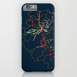 The MBTA Network iPhone Case