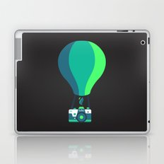 Camera-baloon BLACK Laptop & iPad Skin