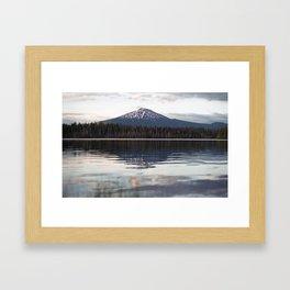 Mount Bachelor Framed Art Print