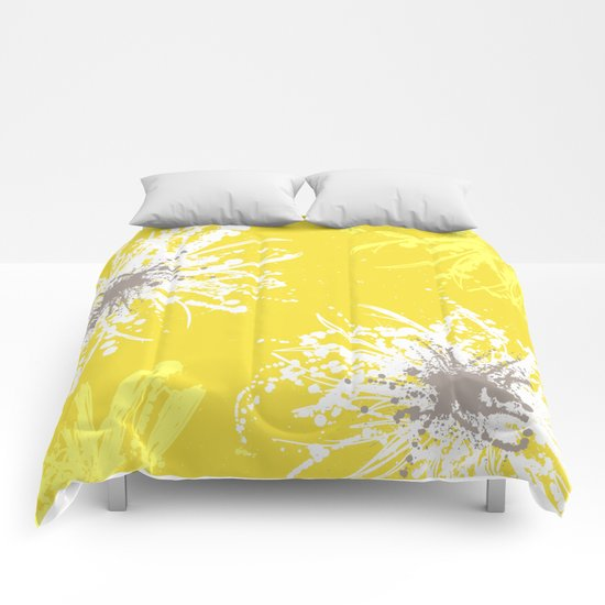 Sunflower Sprinkle Comforters