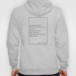 Bernard Barack Be Who You Are 555 Watercolor Map Y Hoody