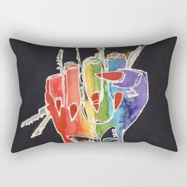 Femme Fury Rectangular Pillow
