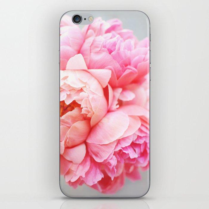 Peonies Forever iPhone Skin