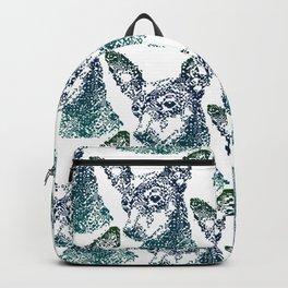 Min Pin Blue Mosaic Backpack