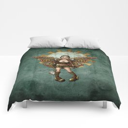 Steam Punk Pilot Faery Comforters