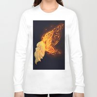 firefly Long Sleeve T-shirts featuring Firefly by Cim Quinlan