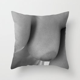 Approaching to love Throw Pillow