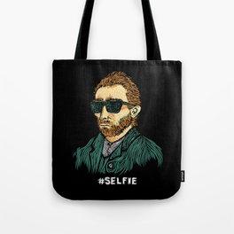 Van Gogh: Master of the #Selfie Tote Bag