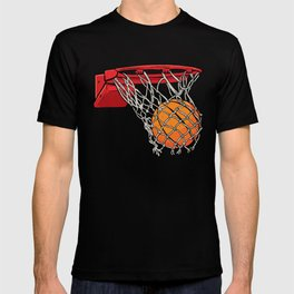 ball basket T-shirt
