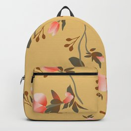 Hellebores Yellow Backpack